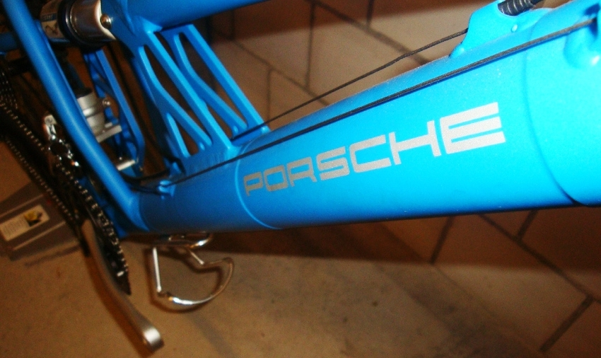 Porsche ST / Original / 140mm / 51 / Blue matt / 10/17 Bild 6