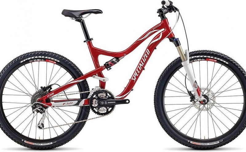 Specialized Myka / L / Red n' white / 100mm /  J1/18