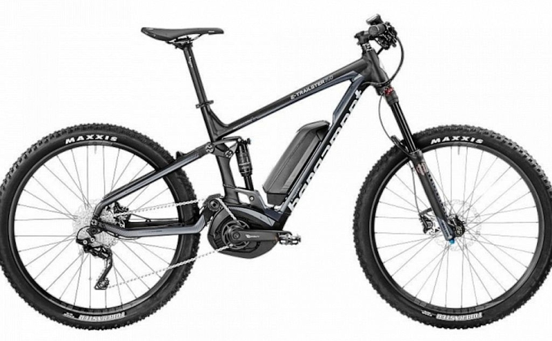 Bergamont Trailster 7.0 / XL / 150mm / Black n' silber