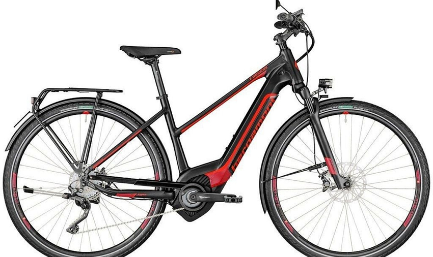 Bergamont E - Elite Speed 45km/h / 44 / Black n' dark n' silver n' red / 11/18