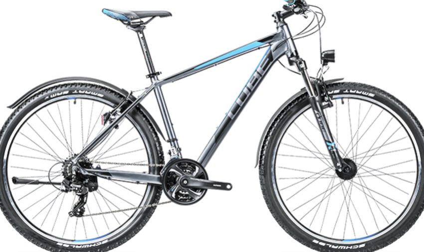 "Cube Aim Allroad / 16"" / 18"" / 100mm / Grey n' blue / 1/19 Bild 1"