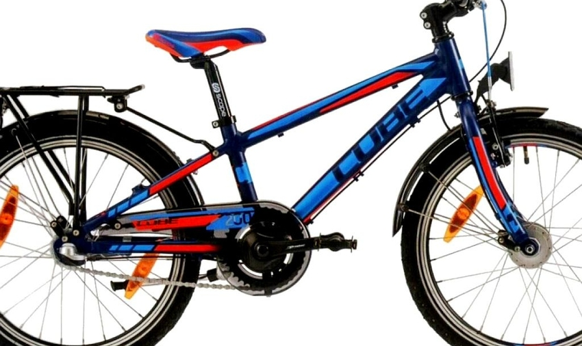 Cube Kid Allroad / XS / Blue n' red / 2/20 - S