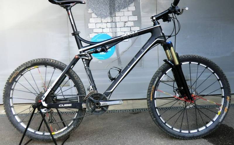Cube AMS XTR / 100mm / Blackline / 1/20