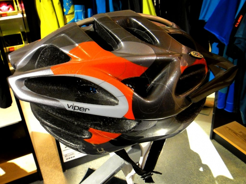 Casco MTB / M / Orange n' grey / Orange n' blue / 6/18 Bild 1