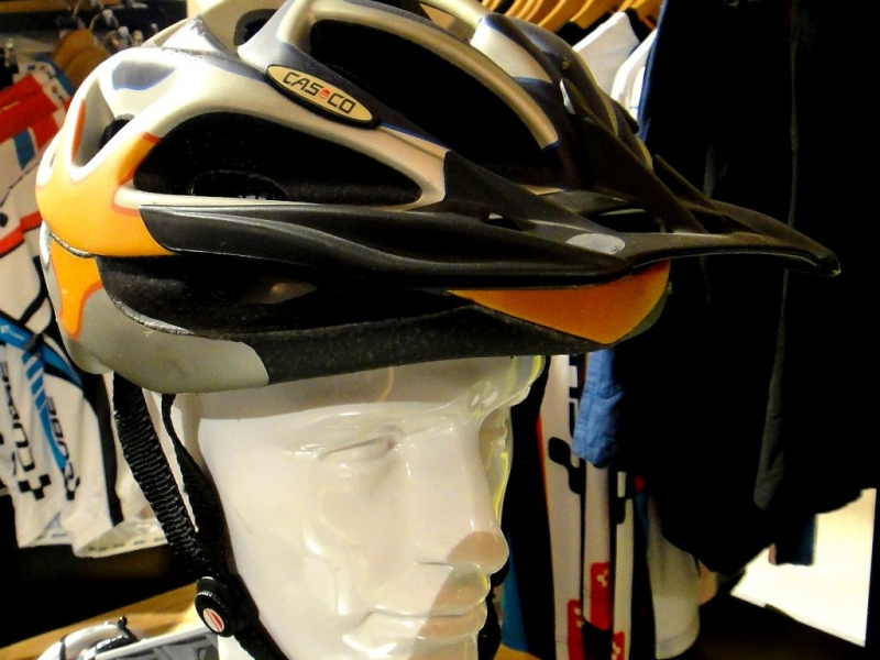 Casco MTB / M / Orange n' grey / Orange n' blue / 6/18 Bild 2