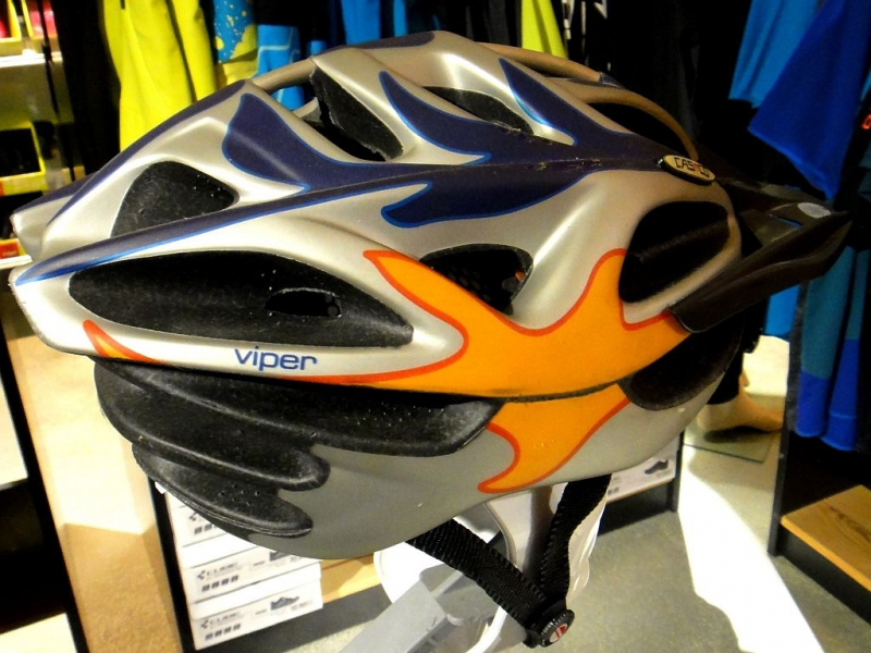 Casco MTB / M / Orange n' grey / Orange n' blue / 6/18 Bild 3